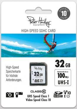 Peter Hadley 32 GB SDHC HighSpeed Class10 UHS-I