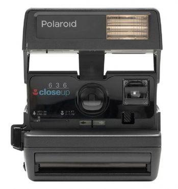 Polaroid 600 Kamera Square refurbished III