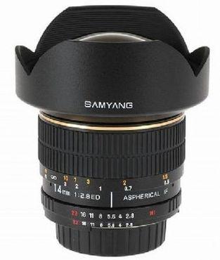 Samyang 14mm 1:2,8 AE Nikon
