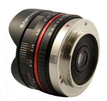 Samyang 7,5mm 1:3,5 Fish-eye MFT schwarz