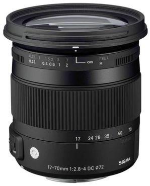 Sigma 17-70mm 1:2,8-4 Macro DC OS HSM Canon Contemporary