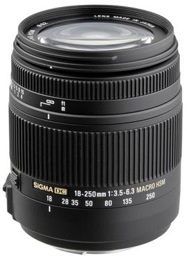 Sigma 18-250mm f3,5-6,3 DC Makro OS HSM Canon