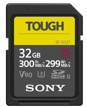 Sony 32GB SDHC UHS-II R300 Tough SF-G32T