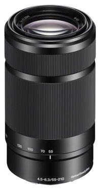 Sony Objektiv SEL 55-210 mm F4,5-6,3 schwarz