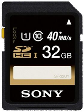 Sony SF32U 32GB SDHC-Karte Class 10 40MB/Sekunde