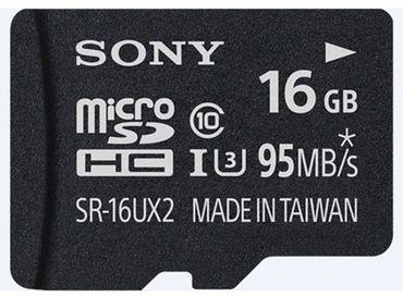 Sony SR16UXA microSDHC 16GB HighSpeed UXA-Serie Class10