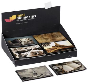 Walther Travel Minialbum MA-503 für 40 Fotos 10x15cm